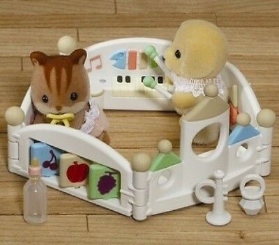 Sylvanian Families Let's Play Playpen. Brand New