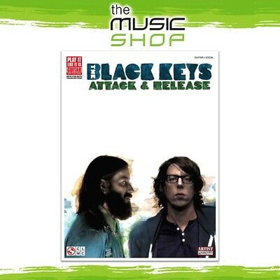 New 'The Black Keys: Attack & Release' Play It Like It Is Music Book for Guitar