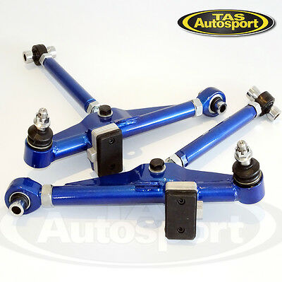 Front Adjustable Lower Control Arms For Nissan S13 180sx 240sx Silvia Cerfiro