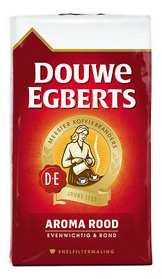 DOUWE EGBERTS Ground Coffee 250g, AROMA ROOD, SNELFILTERMALING