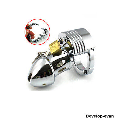 Restraint Adjustable Male Fetish Chastity Cage Device