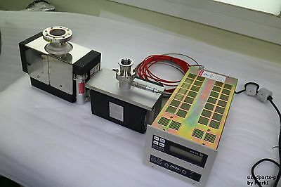 Varian Dual 929-7011S006 Ion Pump Controller & Ion 45 Sem  & Starcell Ion Pump