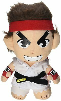 """*NEW* Street Fighter IV: Ryu 8"""" Plush by GE Animation"""