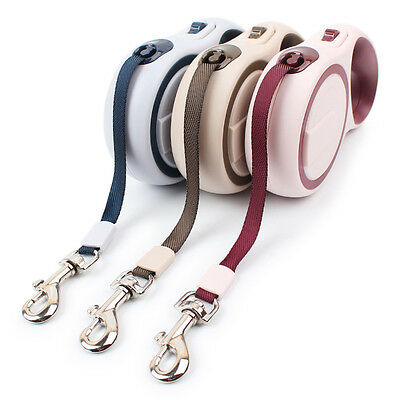 Pet Dog/Cat Puppy Automatic Retractable Traction Rope Walking Outdoor Lead Leash