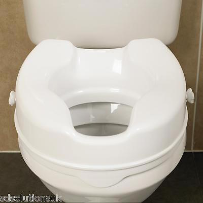 Savanah® Raised Toilet Seats Without Lid Toileting Mobility Aid