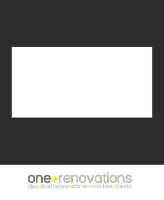 One Renovations SPECIAL 300x600 GLOSS WHITE bathroom wall tiles ceramic kitchen