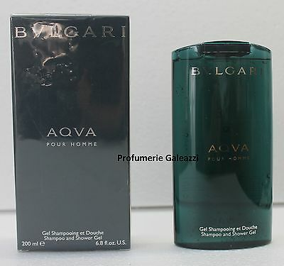 BULGARI AQUA POUR HOMME SHAMPOO AND SHOWER GEL - 200 ml