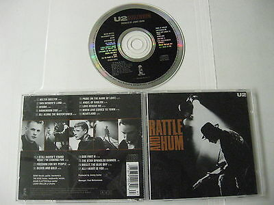 U2 - rattle and Hum - CD Compact Disc