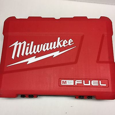 Milwaukee 2897-22 M18 Fuel Cordless Hard Case fits 2604-20 2653-20 Brand New
