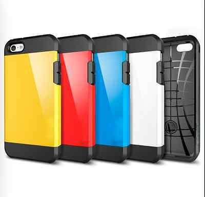 Tough Armor Hybrid Series Dual Case Cover for iPhone 5C + Free Screen Protector