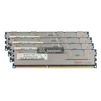 New 100% Hynix 32GB 4x8GB 2RX4 DDR3-1600MHz PC3-12800R REG Registered Server Ram