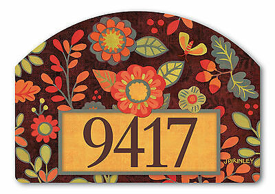 Hello Fall Magnetic Yard DeSign & Address Markers
