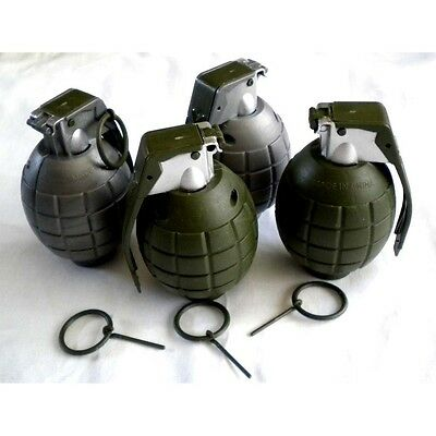 Lot of 4 Kids Toy B/o Grenades for Pretend Play. Brand New
