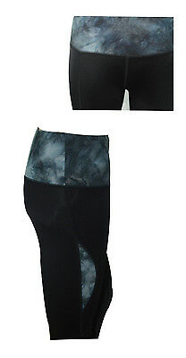 Women Ladies Sports Cropped Pants 3/4 Leggings Running Yoga Fitness Gym Bottoms