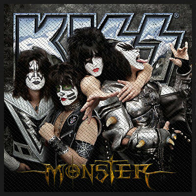 KISS Men's Monster Woven Patch Multi