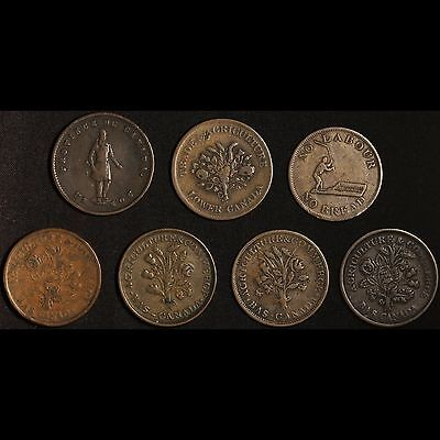 Canadian Agricultural and Other Token Lot