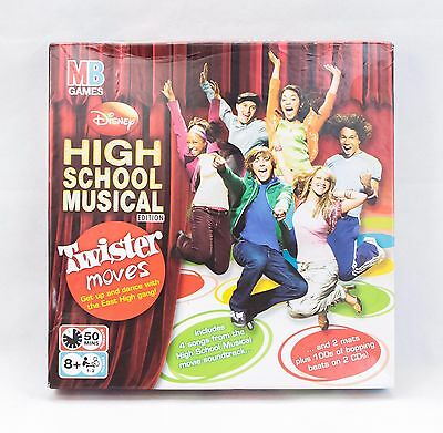 Twister Moves High School Musical Edition DVD Game - Complete + Mint condition