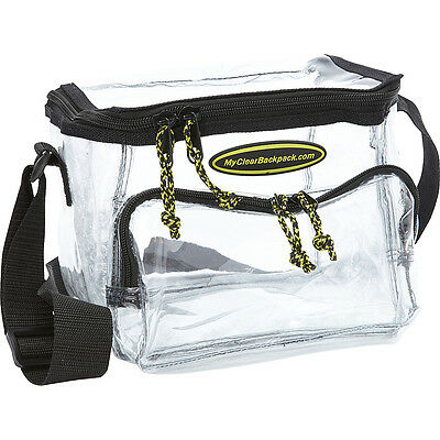 My Clear Backpack Lunch Bag - Medium - Clear Travel Cooler NEW