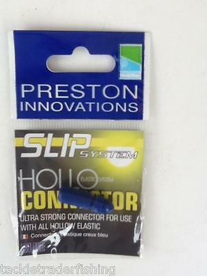 £2.45 Free Delivery PRESTON INNOVATIONS Slip System Hollo Connector Green