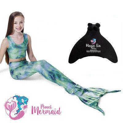 MERMAID TAIL by PLANET MERMAID – SWIMMABLE MERMAID TAIL WITH OPTIONAL MONOFIN