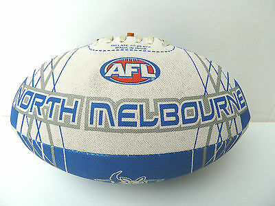 Afl North Melbourne Kangaroos Full Size Synthetic Team Football - Brand New