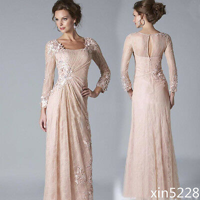 2016 Mother Of The Bride Dress Lace Summer Plus Size Evening Formal Gowns Custom