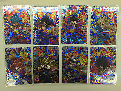 Dragon Ball Heroes GDM9 HGD9 CP1 ~ CP8 Campaign card Complete set of 8 JAPAN