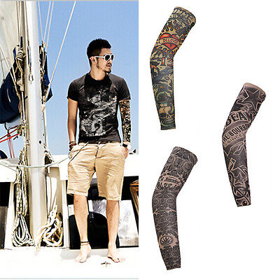 Fashion Cycling Bike Bicycle Arm Warmers Cuff Sleeve Cover Sun Protection BD