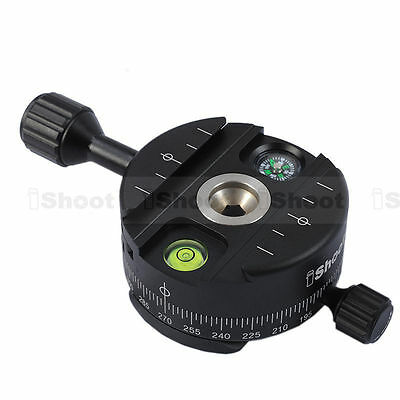 Panoramic 360 Head for Arca-Swiss Camera Tripod Ball Head&Quick Release Plate