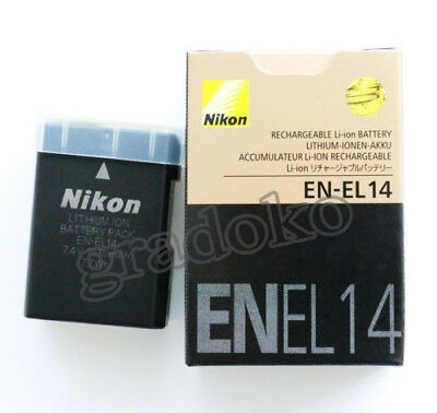 EN-EL14 EL14 New battery for Nikon D5100 D3100 P7100 D3200 D5200  MH24