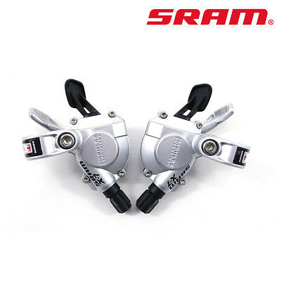 Sram X7 Trigger Shifters Set 3x9 Speed W/Cable Mountain Bike 2009