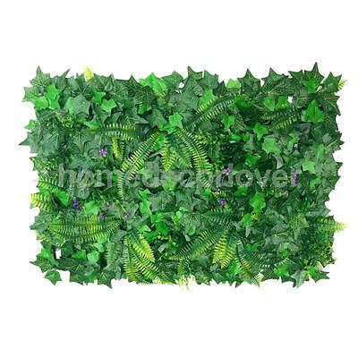 40*60cm Artificial Fake Lawn Green Grass Creepers for Garden Balcony Decors