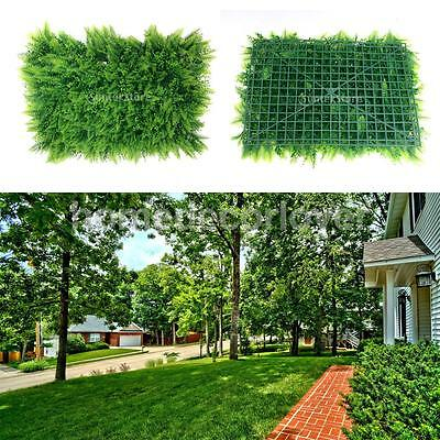 40*60cm Artificial Plastic Green Grass Lawn Faux Plant Wedding Lawn Decor