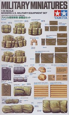 Tamiya 1:35 Soldati Military Miniatures Modern Us Military Equiment Set 35266