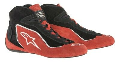 Alpinestars SP SHOES FIA Race Boots Black Red Blue suede fireproof NOMEX
