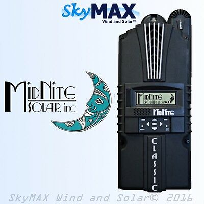 MidNite Solar Classic 150 SL MPPT Solar Charge Controller Regulator 96A 150V USA
