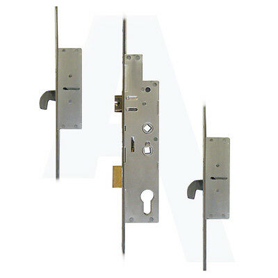 Fullex Crimebeater 35/92 44mm Lever Operated Latch&Deadbolt Twin Spindle 2 Hook