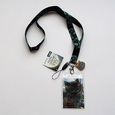Alice Through the Looking Glass - Cheshire Cat Lanyard with Dangler 25324