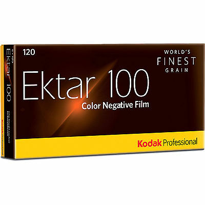 10 Rolls Kodak Ektar 100 120 Pro Color Negative Film FRESH (09/2020) + FREE SHIP