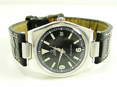 Vintage Omega Seamaster Military Flieger Herren Automatic Gents Watch Orologio