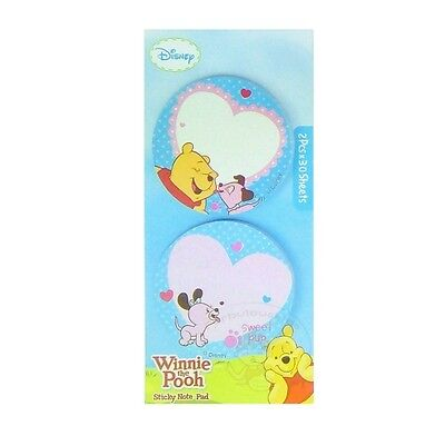Winnie The Pooh Sticky Notepad 60 Sheets /memo/cute Paper/small Note/die-Cut #e