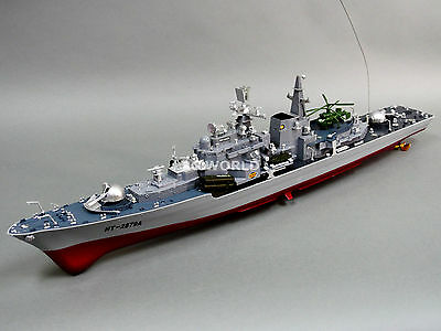Radio Control RC DESTROYER Military SHIP 7.2V Twin Motor -Ready To Run
