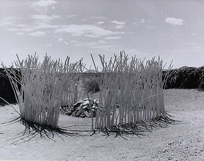 Josef Muench (American 1904-1998) B/W Authentic Photograph Papago Shrine
