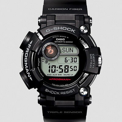 Casio G-Shock Master of G Frogman Multi Band 6  Men's Watch GWF-D1000-1JF