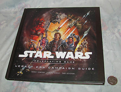 2009 Star Wars Role Playing Game - Legacy Era Campaign Guide Book by Wotc