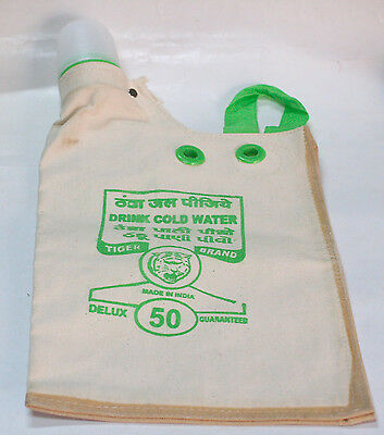 """NEW DRINKING WATER BAG Canvas For """"SURVIVAL""""OR """"EMERGENCY"""" Car-Off Road-Dessert"""