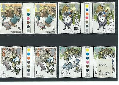 wbc. - GB - COMMEMS - 1979 - YEAR of CHILD  - T/L GUTTER PAIRS - UNM MINT SETS
