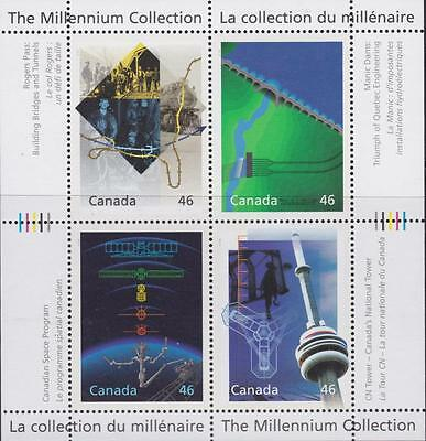 CANADA 2000 Millennium collection #1831 – 14 Engineering & Tech. Marvels