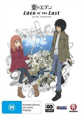 Eden Of The East - Collection (DVD, 2010, 2-Disc Set) New Sealed Region 4