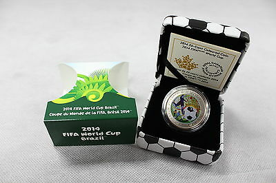 2014 Royal Canadian Mint - $0.25 Coin: FIFA World Cup 2014